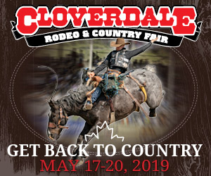 Cloverdale Rodeo Ad LBMG